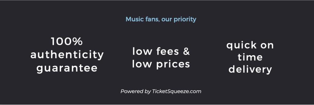 ticket benefits